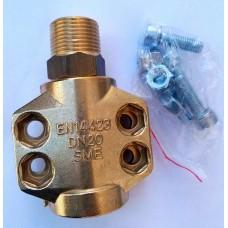 Соединение с наружной резьбой SCM13X6BR для паровых рукавов