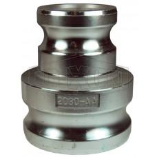 "Адаптер тип 1520-AA-AL 1-1/2"" x 2"" (40mm x 50mm)алюм. 1520-AA-AL DIXON"