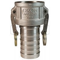 """Camlock тип C 1 1/2"""" (38 мм) нержавеющая сталь 150CSS DIXON"""