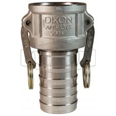 """Camlock тип C  4"""" (102 мм)  нержавеющая сталь 400CSS DIXON"""