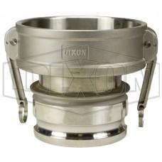 "Адаптер тип 1510DA-AL 1-1/2""x 1"" (38x25мм) алюм. 1510-DA-AL DIXON"