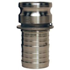 """Camlock тип E  3 """" (76 мм)  нержавеющая сталь 300ESS DIXON"""